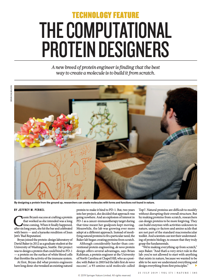 IPD News – Institute for Protein Design